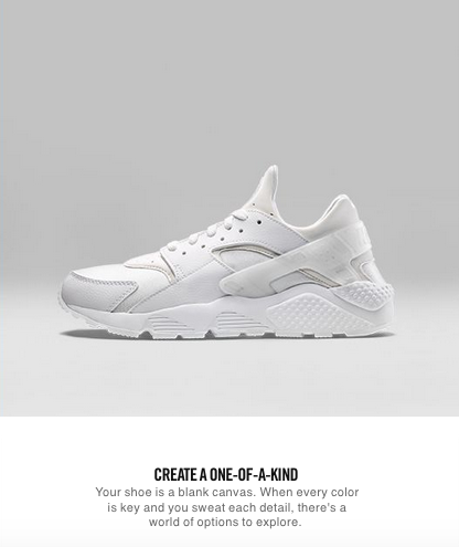 NikeID Blank Canvas