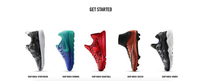 NikeID Get Started