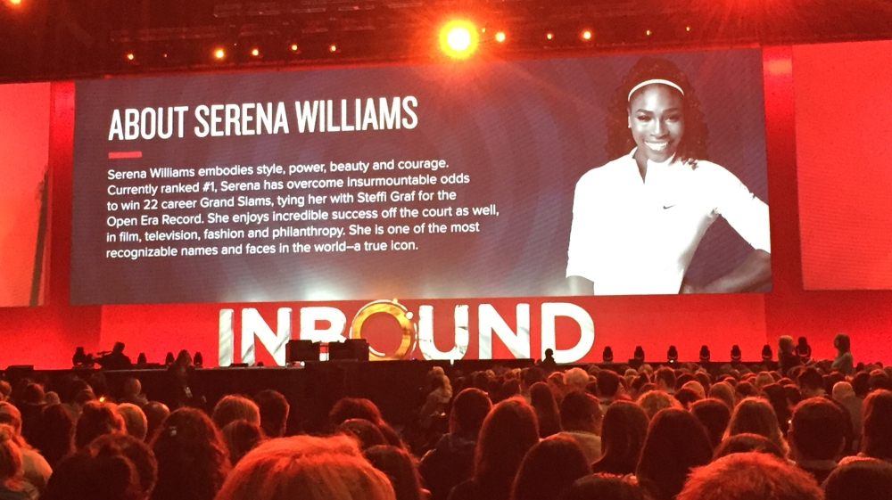 Serena Williams Inbound 2016 career success and tennis.