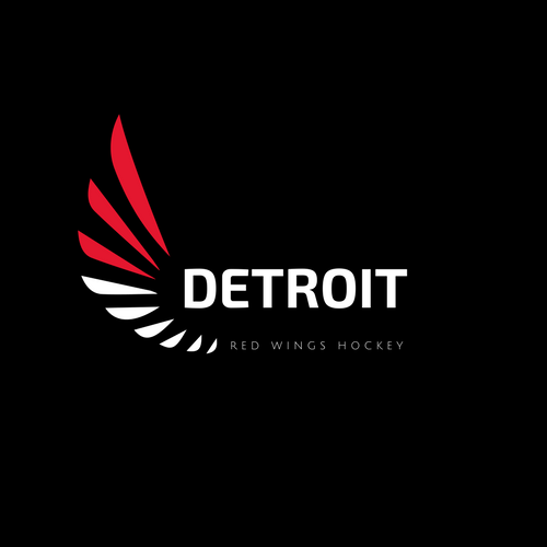 Detroit Red Wings NHL Logo as Company Logo