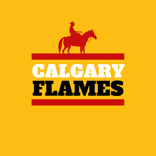 Clagary Flames NHL Logo as Company Logo