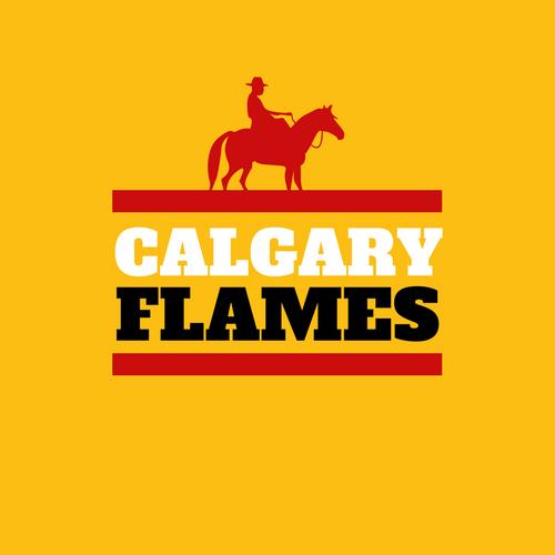 Clagary Flames NHL Logo as Company Logo