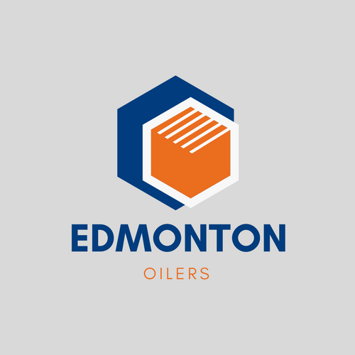 Edmonton Oilers NHL Logo as Company Logo