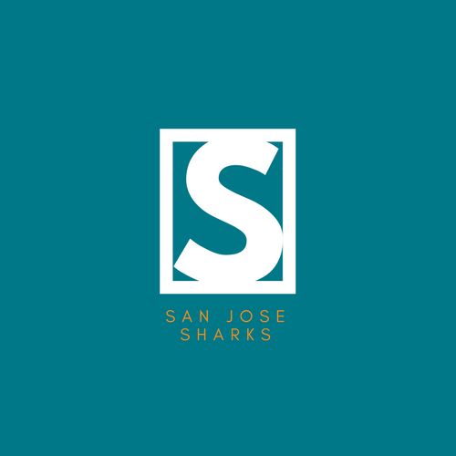San Jose Sharks NHL Logo as Company Logo