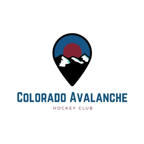 Colorado Avalanche NHL Logo as Company Logo