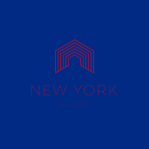 New York Rangers NHL Logo as Company Logo