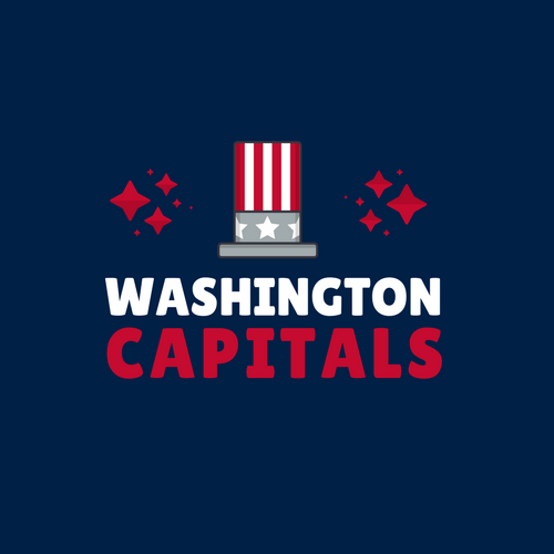 Washington Capitals NHL Logo as Company Logo